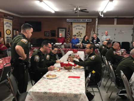 On-Duty Christmas Meal 2018